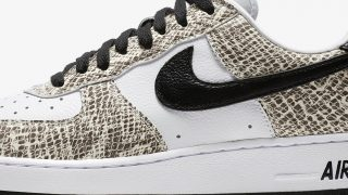 11月16日発売 Nike Air Force 1 Retro COCOA SNAKE 白蛇 845053-104