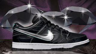 11月9日・10日発売 Nike SB Dunk Low PRO DIAMOND BV1310-100/001