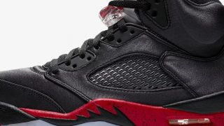 11月3日発売 Nike Air Jordan 5 Retro 136027-006 BLACK/UNIVERSITY RED
