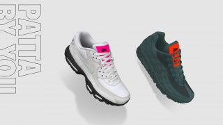11月27日発売 Nike Air Max 90 / 95 iD by Patta