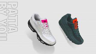 11月27日発売 Nike Air Max 90 / 95 iD by Patta