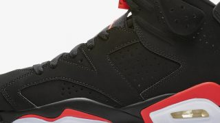 2月16日発売 Nike Air Jordan 6 Retro INFRARED 384664-060