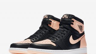 4月11日発売 Nike Air Jordan 1 Retro High OG BLACK/PINK 555088-081