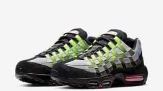 4月27日発売 Nike Air Max 95 Woven BLACK/VOLT AQ0764-001