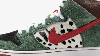 国内4月20日発売 Nike SB Dunk High Pro QS WALK THE DOG BQ6827-300