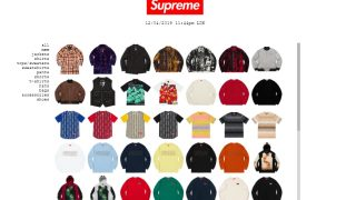 4月13日発売 Supreme × Jean Paul Gaultier collection 他発売商品 2019ss Week7