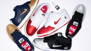 国内9月7日発売予定 Supreme × Nike SB Dunk Low 3色展開 2019fw